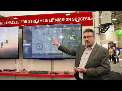 Harris Corporation displays RangeVue UAS detect-and-avoid system at Xponential 2017