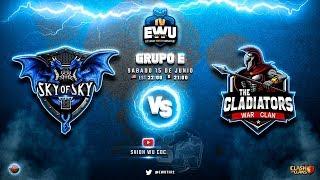 Hoy juega el CAMPEÓN!!! Torneo EWU | Clash of Clans