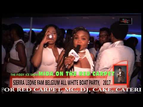 ALL WHITE BOAT PARTY BY LEONE FAM, BELGIUM, 2017