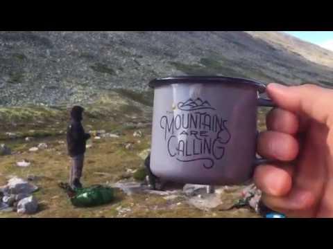 4 day hike Rondane NP Norway, Aug 2017