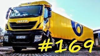 Český Truckvlog #169 - ,,10 důvodů, proč pracovat jako řidič u české pošty,,