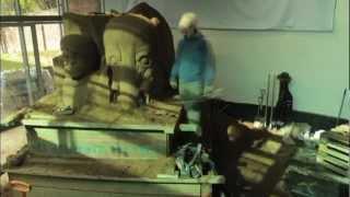 The Sand House Sand Sculpture Trailer
