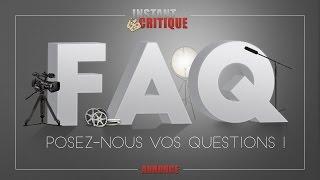 Annonce : F.A.Q. - Posez-nous vos questions