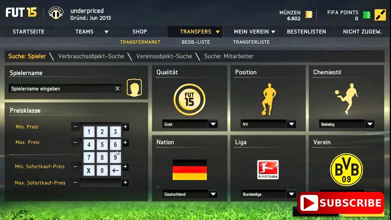 Fifa 15 Ultimate Team 20k 20000 Coins Münzen Handeln Trading Easy