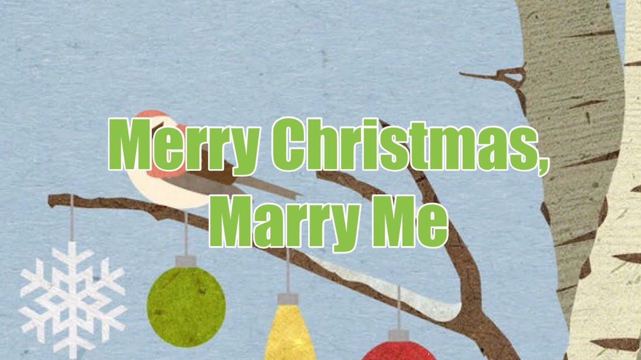 Merry Christmas From The Family Lyrics.The Crofts Family Merry Christmas Marry Me Lyrics Video