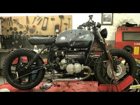 1986 BMW R80 Turnout Exhausts