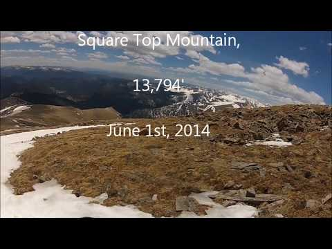 Square Top Mountain, Colorado - on a never Summer Raptor snowboard