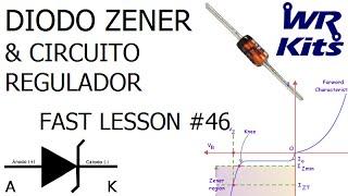DIODO ZENER E CIRCUITO REGULADOR | Fast Lesson #46