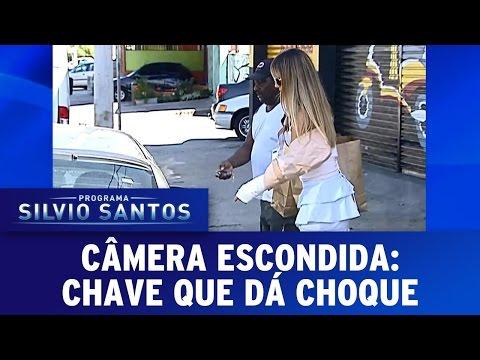 Chave que dá choque | Câmera Escondida (05/03/17)