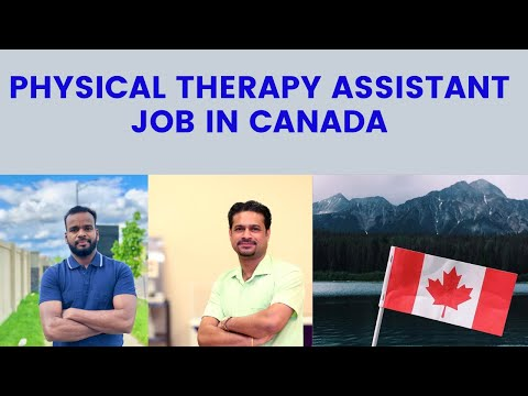 Physiotherapy Assistant Job In Canada #jobs In Canada #Canada Malayalam