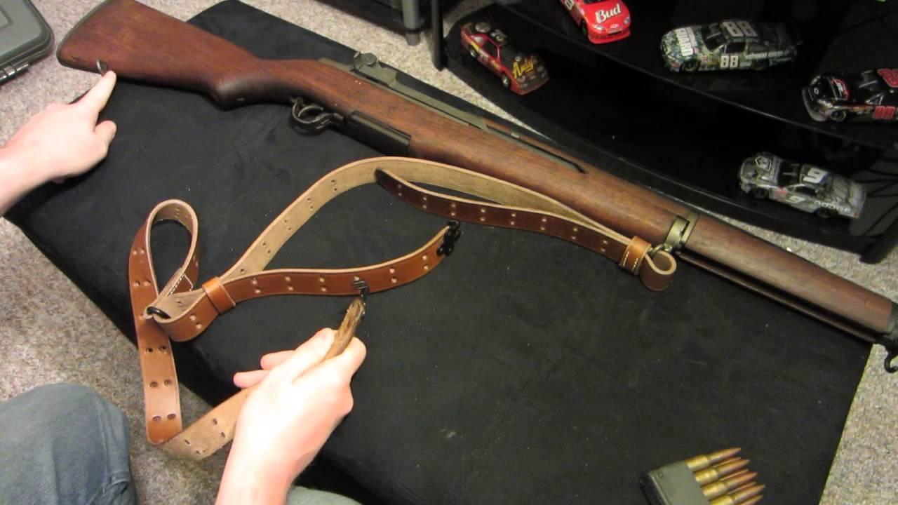 M1 Garand M1907 Sling Installation