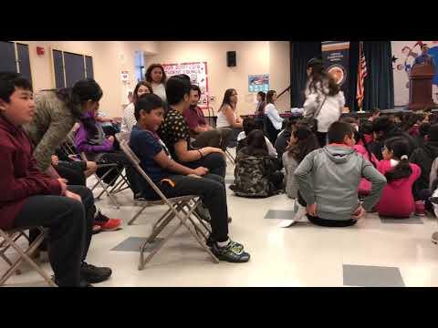 Vargas Elementary School monthly awards