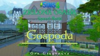 """The Sims 4 Wyzwanie - Zielona Osada Speed Build #11 - """"Gospoda pod Świńskim Łbem"""""""