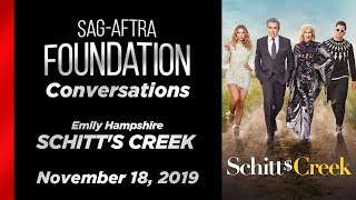 Conversations with Emily Hampshire of SCHITT'S CREEK