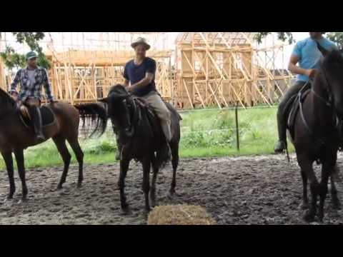 Michael RaymondJames: Horse riding training for Sons Of Liberty