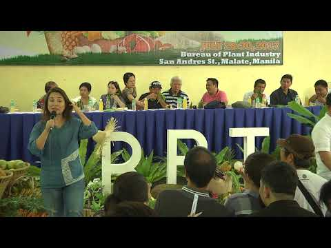 LOREN LEGARDA:  Speech: TienDA Farmers and Fisherfolks Outlet Launch