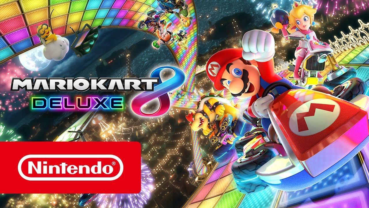 Mario Kart 8 Deluxe Trailer De Nintendo Switch Youtube