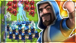 ELECTRO WIZARDS vs REGULAR WIZARDS!   WHICH TROOP IS THE STRONGEST in Clash Royale!?