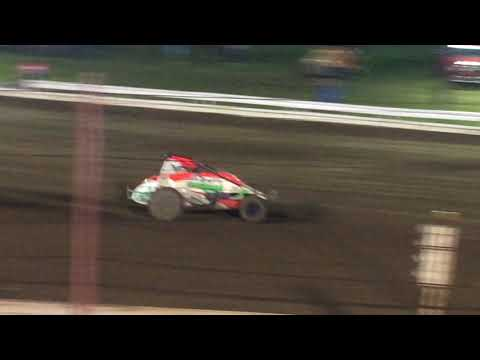 USAC Sprint Car Feature Part 2/2 Terre Haute Action Track