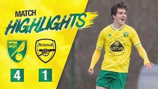 HIGHLIGHTS | Norwich City U18 4-1 Arsenal U18