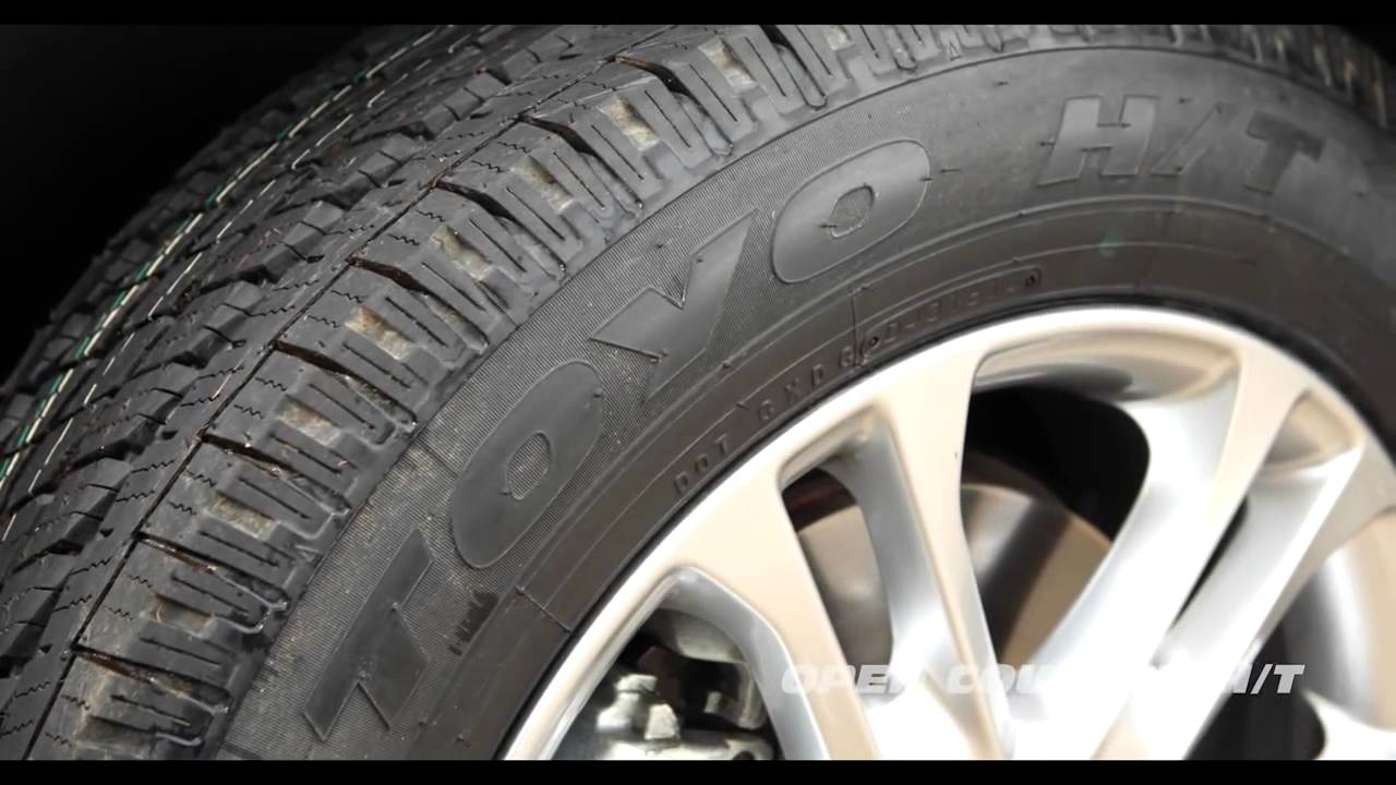 Open Country Tires >> Toyo Tires Open Country HT - YouTube