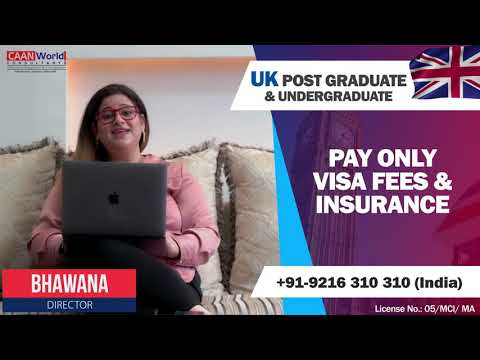 Study in UK. Options to pay after VISA