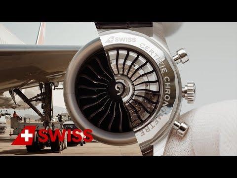 Aircraft engineer meets Breitling watchmaker | SWISS