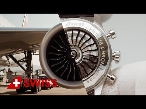 Video: Aircraft engineer meets Breitling watchmaker | SWISS