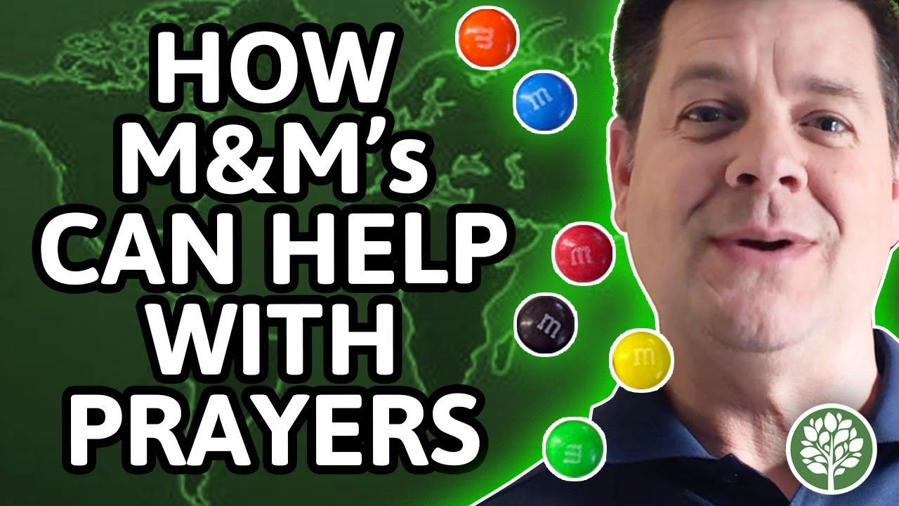 Encourage-Educate-Entertain: How M&M's Can Help with Your Prayers
