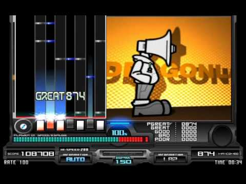 ★14   DRAGONLADY (7key(・3・))   -   Nankumo / BGA:Cube3