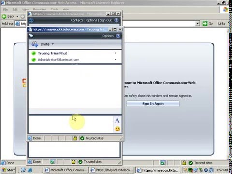 10. Office Communications Server - Install And Configuring Communicator Web Access