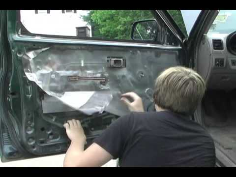 how to remove your door panel