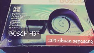 Unboxing klakson Bosch H3F dipasang pada Honda City 2009