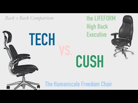 LIFEFORM Executive Chairs  sc 1 st  YouTube & The FREEDOM vs. LIFEFORM Executive Chairs - YouTube