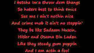 Knuck If You Buck : Crime Mob (lyrics)