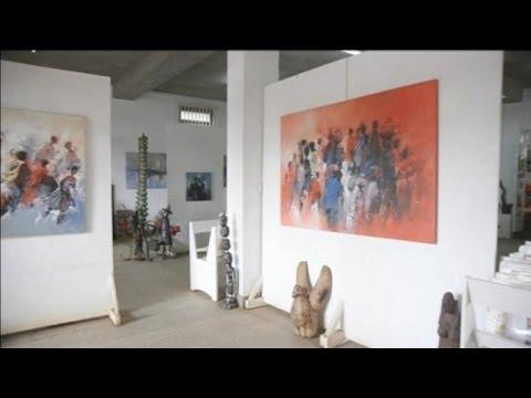 Kenya, PORTRAIT D'UN COUPLE D'ARTISTES PEINTRES