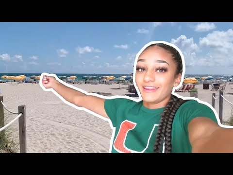 Dominique Mustin Miami Recruiting Trip | MileSplit Vlog