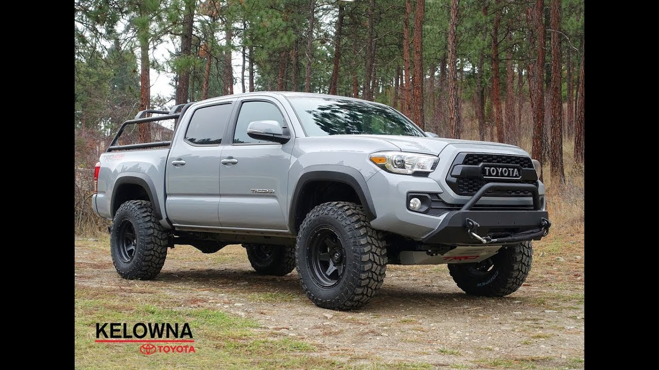 Toyota Tacoma Lifted >> New 2019 Toyota Tacoma Trd Off Road I Lift Kit I Cooper Tires I Fuel Rims With Navigation