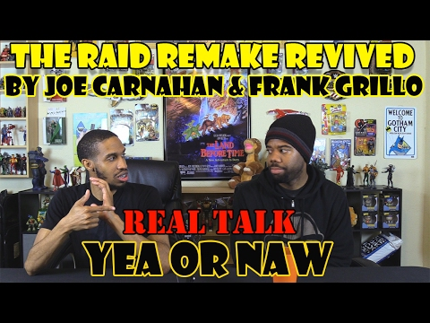 The Raid Remake Revived by Joe Carnahan & Frank Grillo....Real Talk....Yea or Naw