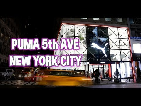 PUMA 5th Ave New York City Flagship Store