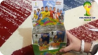 Panini Adrenalyn XL Fifa World Cup Brasil 2014 WM DISPLAY Unboxing [HD+] ★ 10 Päckchen