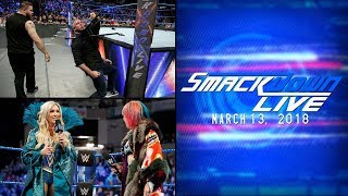 Smackdown Live Review (3/13/18): Fastlane Fallout, Shane's WrestleMania Announcement & More