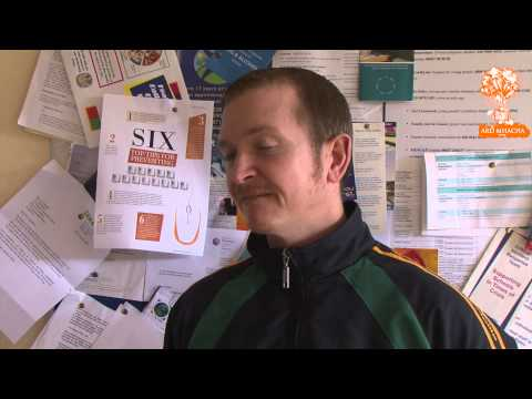 Mr Wilson, St. Michael's, Lurgan Pre MacLarnon Cup Final 2013