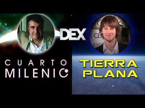 Santiago Camacho de Cuarto Milenio entrevista a Oliver Ibáñez (Tierra Plana)