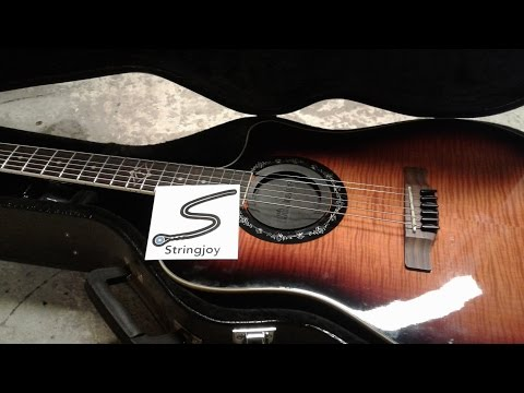 StringJoy Custom Acoustic Strings Demo and Review