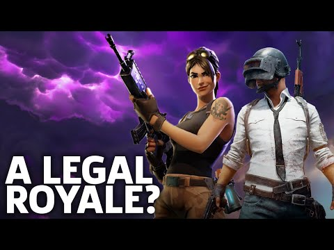 PUBG Vs. Fortnite: A Legal Royale? - The Dive