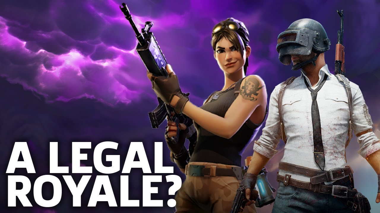 Pubg V Fortnite: PUBG Vs. Fortnite: A Legal Royale?