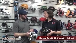 Bauer Reakt 100 Youth Hockey Helmet