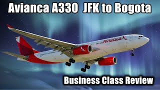 Flight Report   Avianca   Airbus A330   Business Class Bogota Colombia