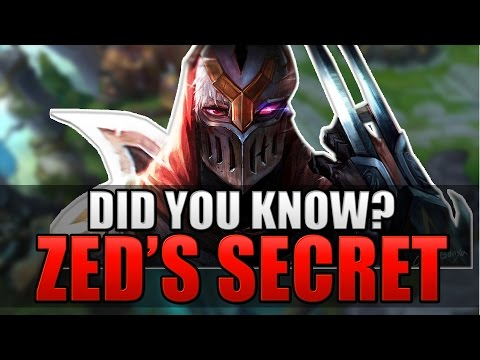 ZED'S SECRET THEORY | Did You Know? - League of Legends